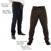 15th Century Trousers. Pure Wool & Leather Ties - 2 Colours